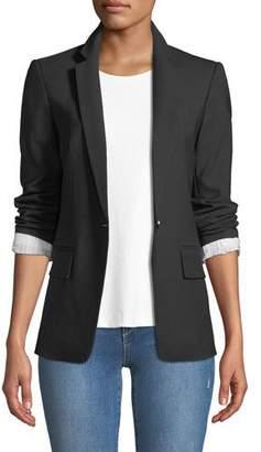 Club Monaco Borrem Single-Button Wool-Blend Blazer