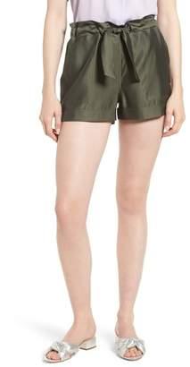 Trouve Trouv? Cargo Paperbag Waist Shorts