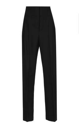 Haider Ackermann High Waisted Pleated Trousers
