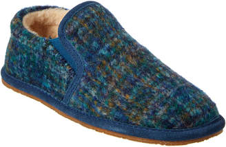 BearPaw Women's Cozy Alana Suede & Wool Slipper