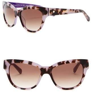 65716bd2700 Kate Spade Aisha 54mm Cat Eye Sunglasses