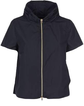 Herno Shortsleeved Zipped Jacket