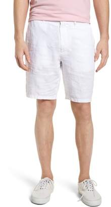 Vilebrequin Embroidered Linen Blend Shorts