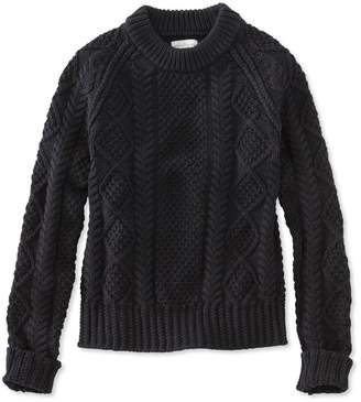 L.L. Bean L.L.Bean Signature Cotton Fisherman Sweater