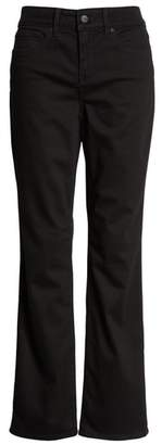 NYDJ Marilyn Straight Leg Black Jeans