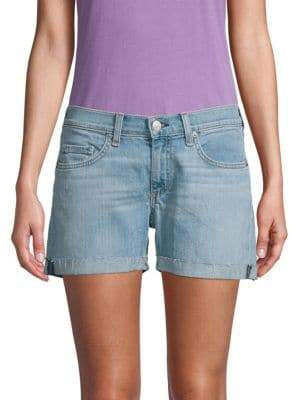 Rag & Bone Classic Boyfriend Denim Shorts