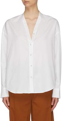 Vince Dolman sleeve V-neck shirt