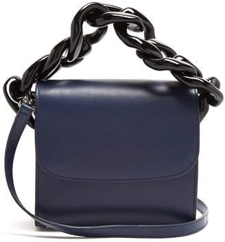 Marques Almeida MARQUES'ALMEIDA Oversized curb-chain leather shoulder bag