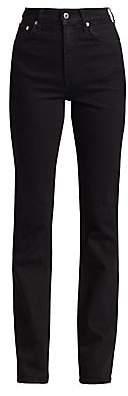 Helmut Lang Women's Under Construction Femme High-Rise Bootcut Jeans