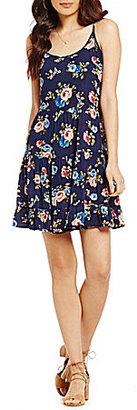 C & V Chelsea & Violet Floral Print Swing Dress $59 thestylecure.com