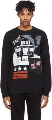 Givenchy Black L.A. House Sweatshirt