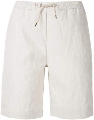 Woolrich elasticated waist shorts