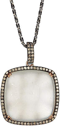 Sabrina Designs 14K Rose Gold 19.03 Ct. Tw. Diamond & Moonstone Necklace