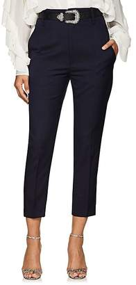 Etoile Isabel Marant Women's Noah Virgin Wool High-Rise Pants