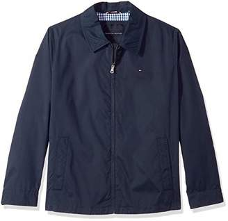 2eb9aeeb Tommy Hilfiger Men's Big Lightweight Microtwill Golf Jacket (Regular & Big- Tall ...