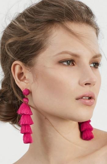 Women's Baublebar Antonella Tassel Fringe Earrings 5