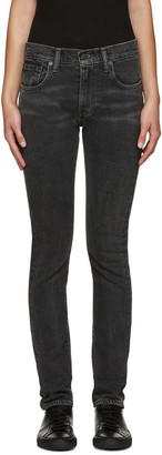 Levi's Black 505C Jeans $95 thestylecure.com