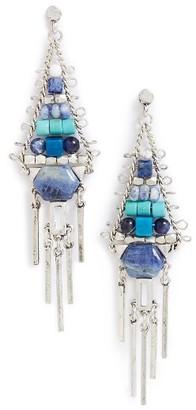 Women's Treasure & Bond Beaded Fringe Chandelier Earrings $39 thestylecure.com