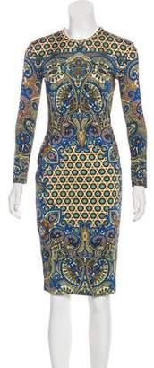 Givenchy Printed Midi Dress