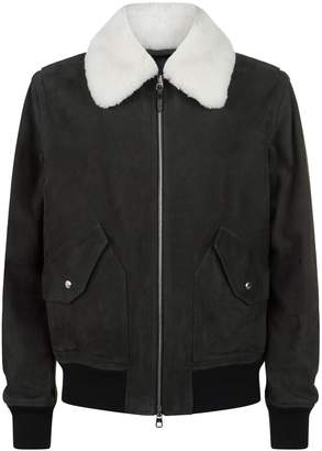 Dunhill Shearling Leather Jacket