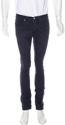 Acne Studios Max Satin Blue Pants
