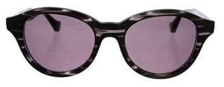 Dita Round Tinted Sunglasses