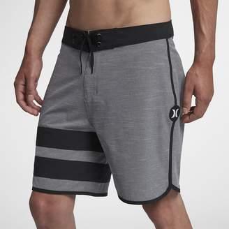 "Nike Men's 18"" Board Shorts Hurley Phantom Block Party Slub"