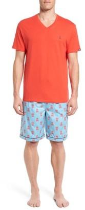 Men's Psycho Bunny Pajama Set $55 thestylecure.com