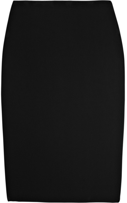 Alexander McQueen Crepe pencil skirt