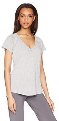 PJ Salvage Women's riveting Basics Short Sleeve Tee
