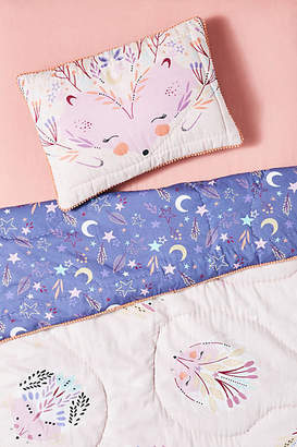 Paper & Cloth HedgehogToddler Sham