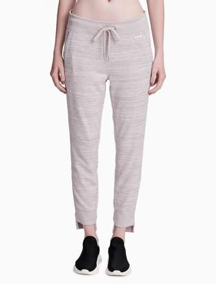 Calvin Klein drawstring high low cuff jogger sweatpants