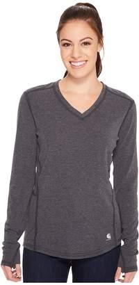 Carhartt Force Ferndale Long Sleeve T-Shirt Women's Clothing