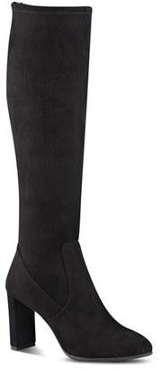 Women's Nine West 'Kellan' Stretch Boot $149.95 thestylecure.com