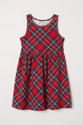 H&M Sleeveless Jersey Dress - Red