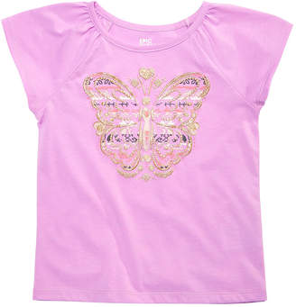 Epic Threads Little Girls Butterfly T-Shirt, Created for Macy's