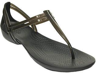Crocs Huarache T-strap Sandals - Isabella T-Str