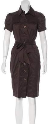 Diane von Furstenberg Knee-Length Button-Up Dress