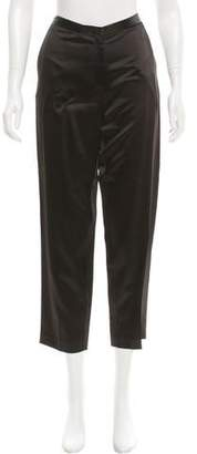 Rosetta Getty Satin Cropped Pants w/ Tags