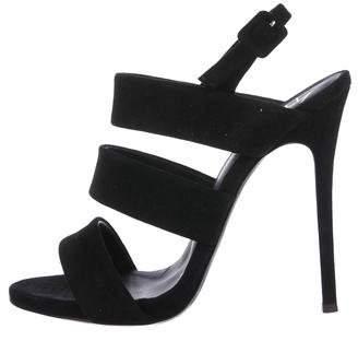Giuseppe Zanotti Alien Suede Sandals