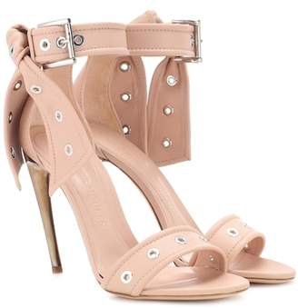 Alexander McQueen Studded leather sandals