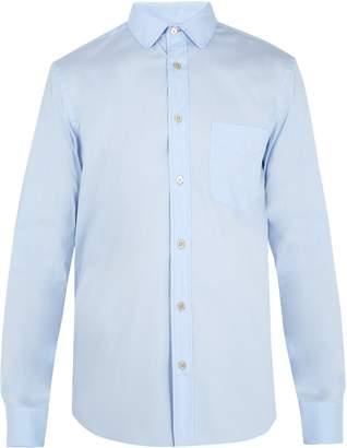 Paul Smith Single-cuff cotton-blend shirt