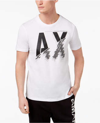 Armani Exchange Men's Logo-Print T-Shirt
