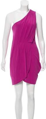 Marc by Marc Jacobs Pleated One-Shoulder Dress