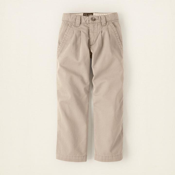 Children's Place Uniform chino pants - slim