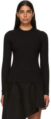 Acne Studios Black Merino Carina Sweater