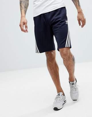 adidas Nova Shorts With Pinstripe In Navy Ce4849
