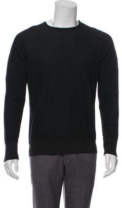 Wings + Horns Woven Crew Neck Sweater
