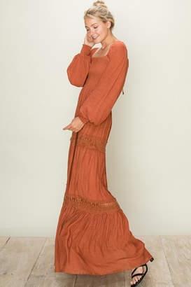 Fason De Viv Maxi Rust Dress