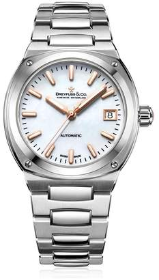 Dreyfuss & Co 1953 Analogue Classic Automatic Watch With Stainless Steel Strap